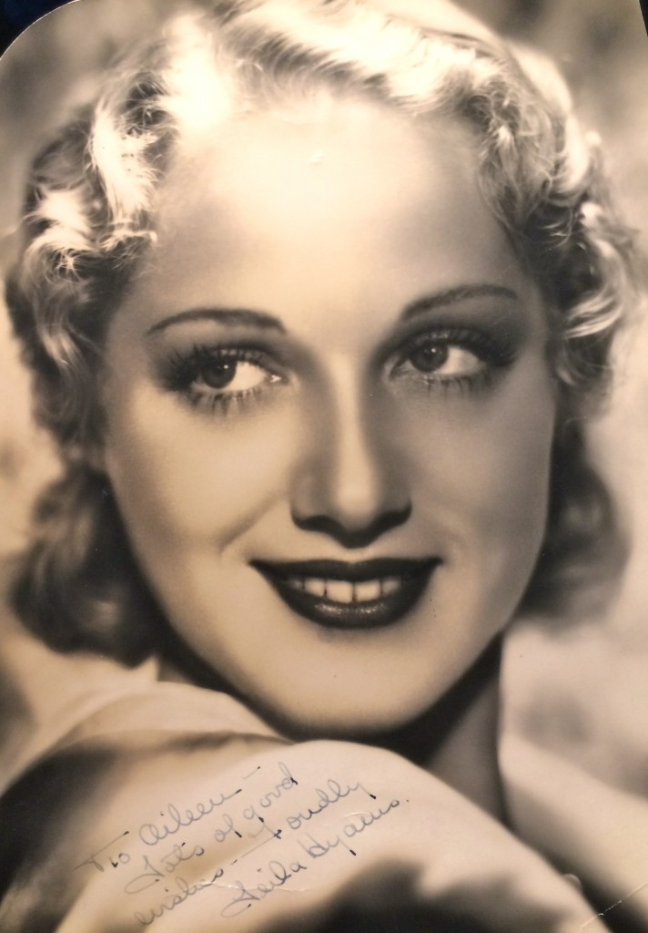 "A Hurrell photo of Leila Hyams, one of the stars in ""Freaks"""