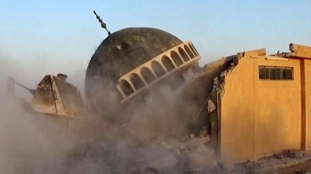 Isis Destruction of Mosque