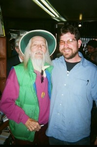 George Clayton Johnson with Bill Nelson